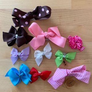 Other - 🐊 BUNDLE OF BABY/TODDLER HAIR BOWS